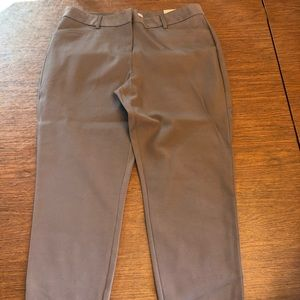 NWT- Maurices skinny ankle pants light purple